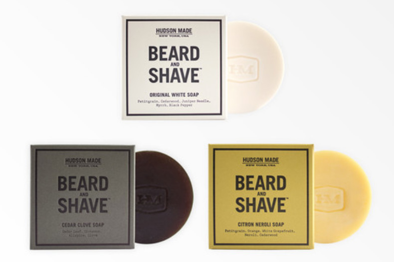 Hudson Made Shave Soap Beardsgaard Barbers