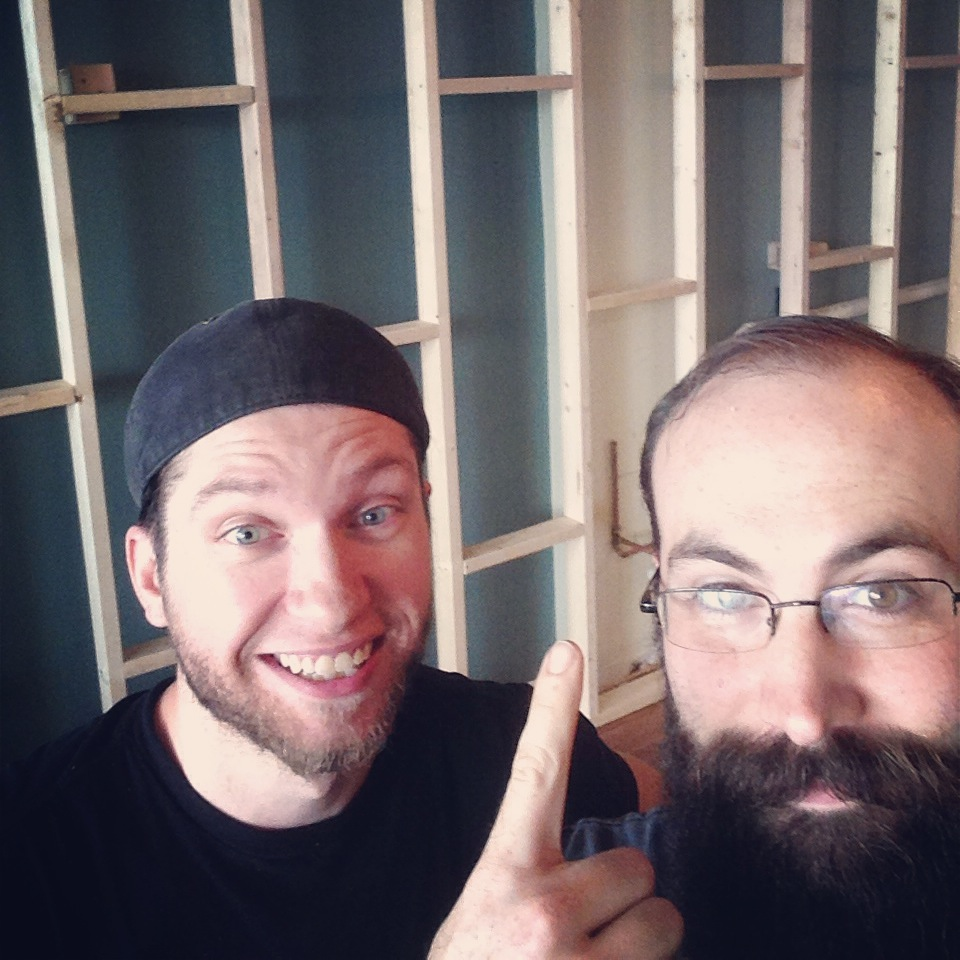 Tyler & Devin Built A Wall Beardsgaard Barbers