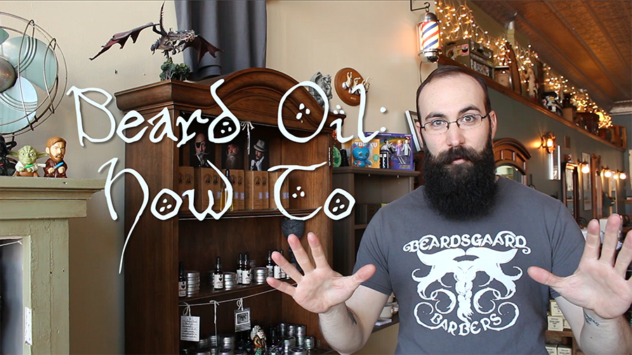How to Apply Beard Oil Beardsgaard Barbers