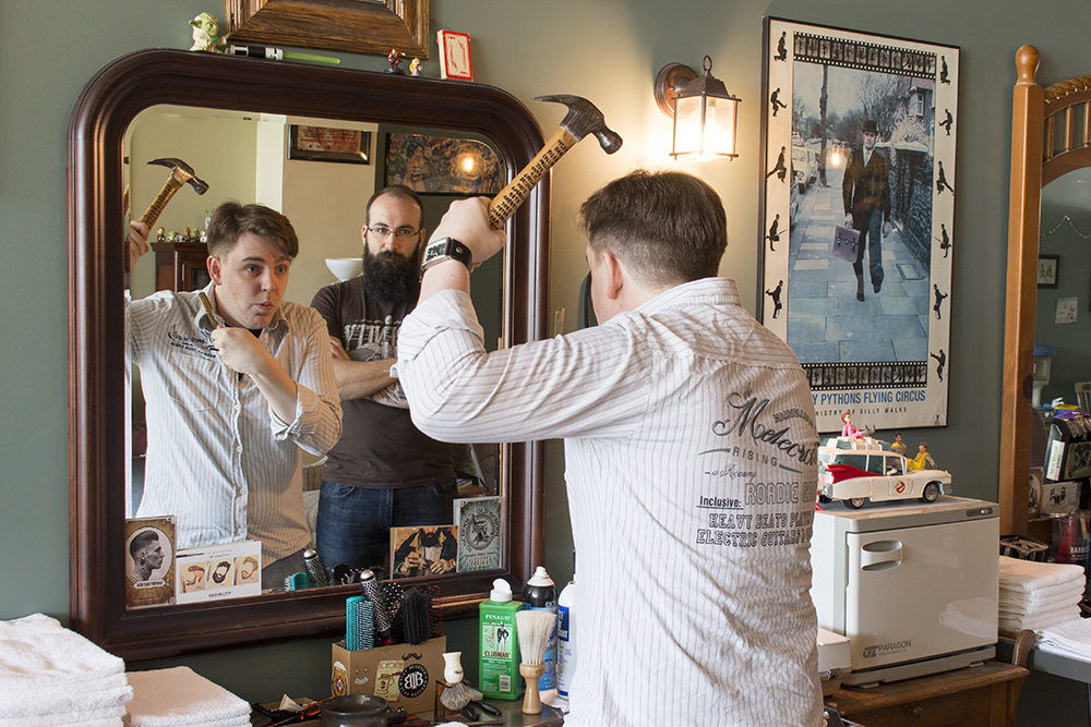 Colin Does Stuff Beardsgaard Barbers