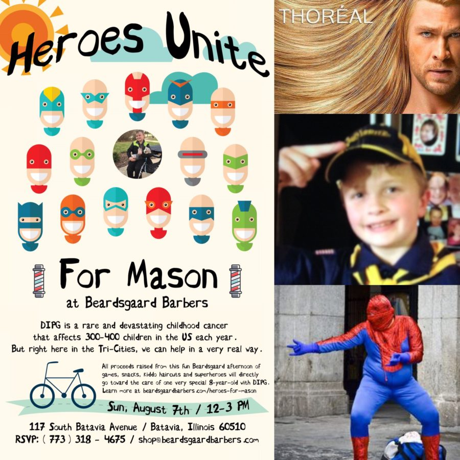 Heroes for Mason Beardsgaard Barbers