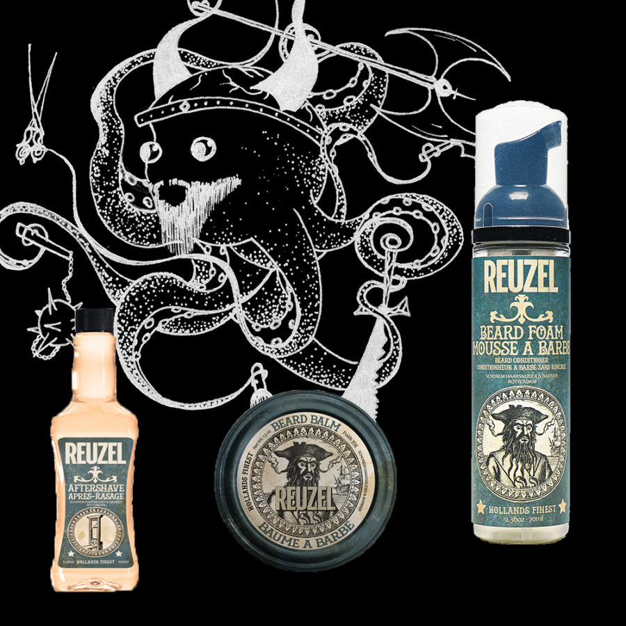 reuzel-holiday-trio-gloomworld Beardsgaard Barbers