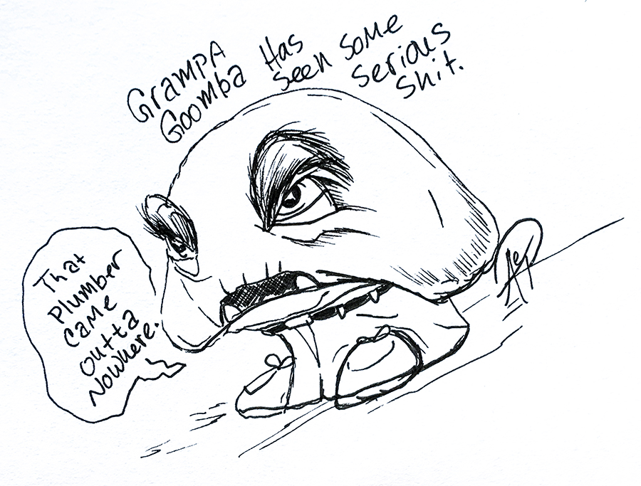 Eagle Drawrings-Grandpa Goomba