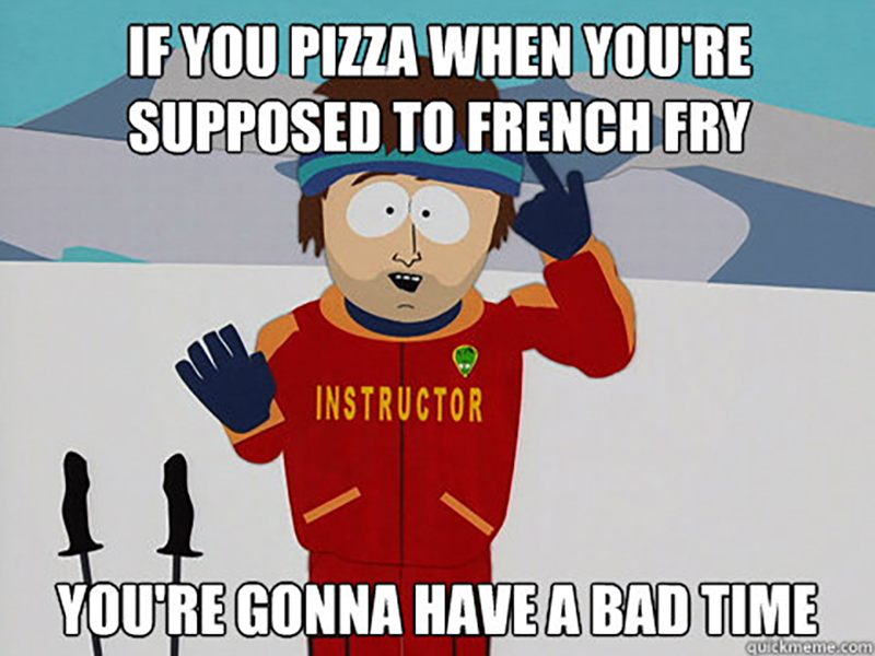 Pizza French Fry